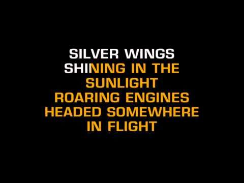 SILVER WINGS-in the style of merle haggard-KARAOKE | LYRICS