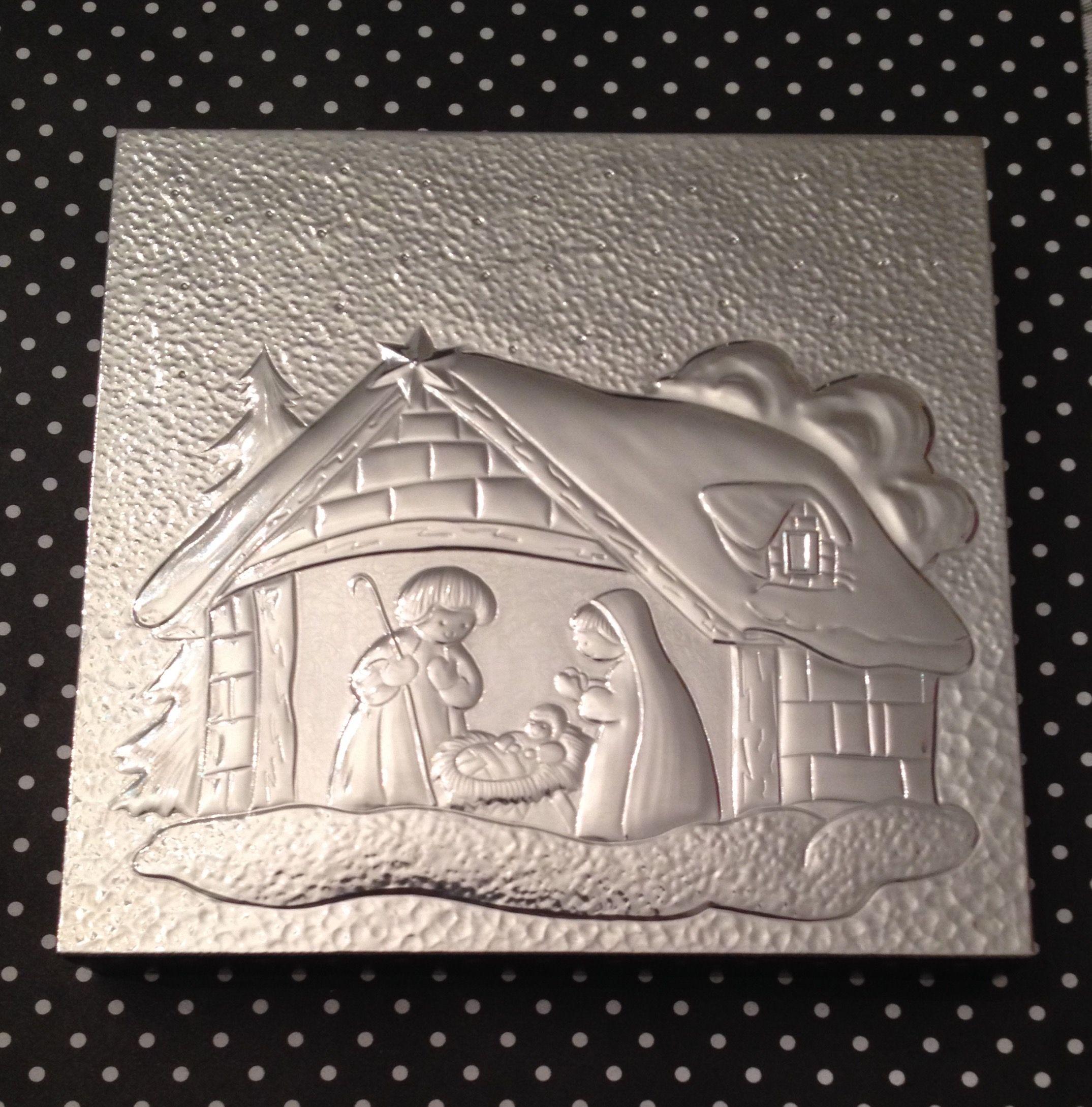 Repujado En Aluminio Pieza Hecha A Mano Por Graciela M Aluminum Foil Art Metal Embossing Tin Foil Art