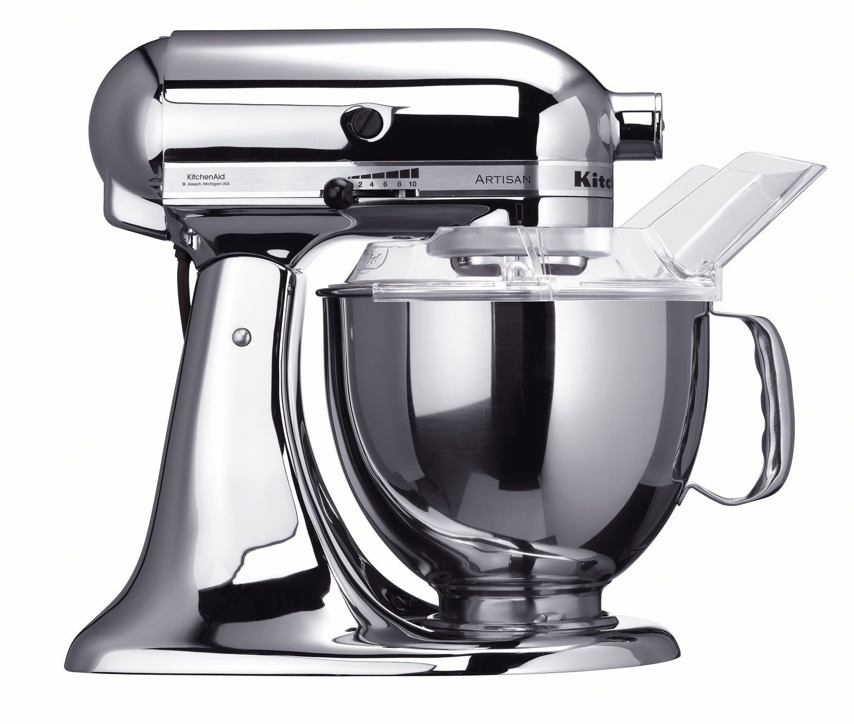 kitchenaid chrome kitchenaid ksm152pscr custom metallic series 5 rh pinterest com