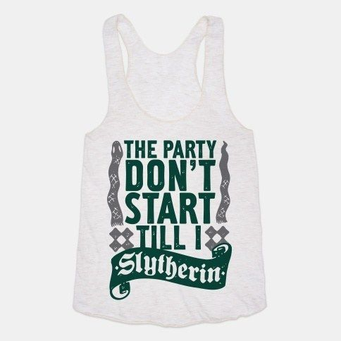 Or this AMAZING tank top that you can wear to your Slytherin house parties. | Community Post: 25 Bewitching Gifts All Slytherins Need In Their Lives