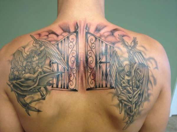 12 gates of heaven pearly gates of heaven tattoo tattoos piercings pinterest heaven. Black Bedroom Furniture Sets. Home Design Ideas