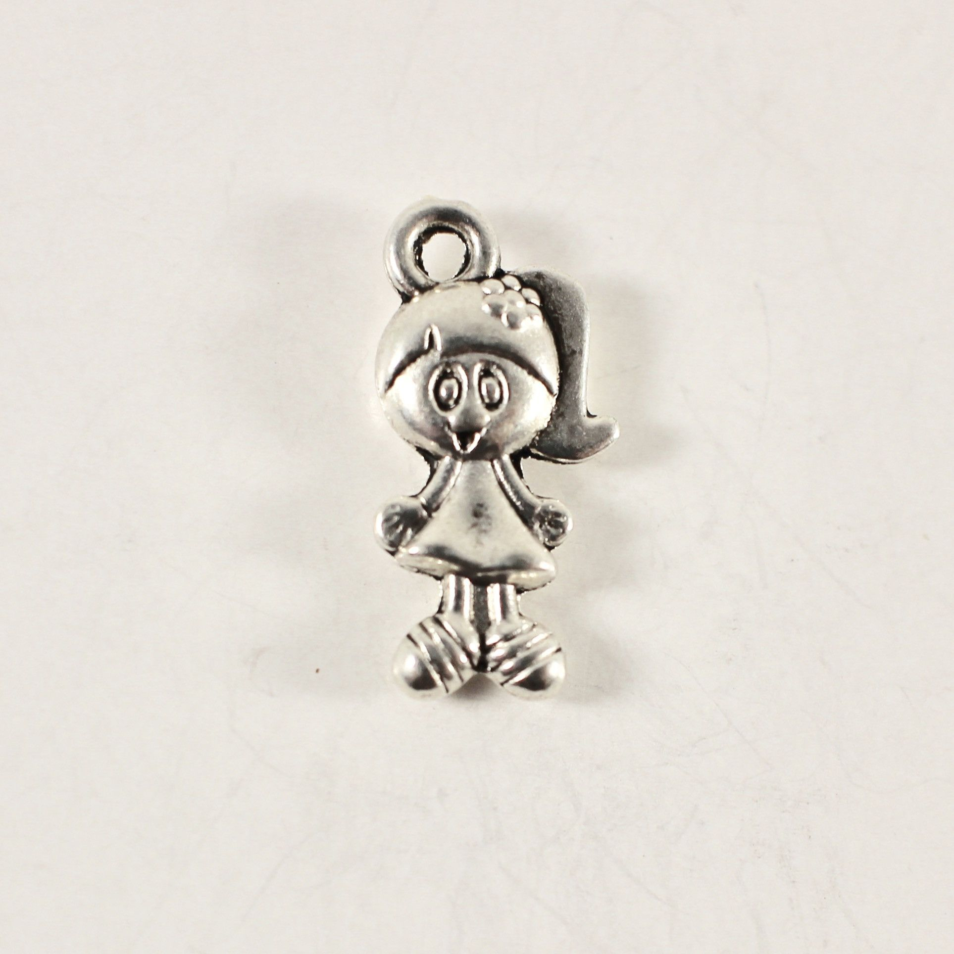 Antiqued Silver Charms