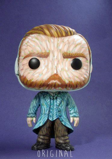 Vincent Van Gogh Custom Funko Pop Vinyl Figurine Art Toy