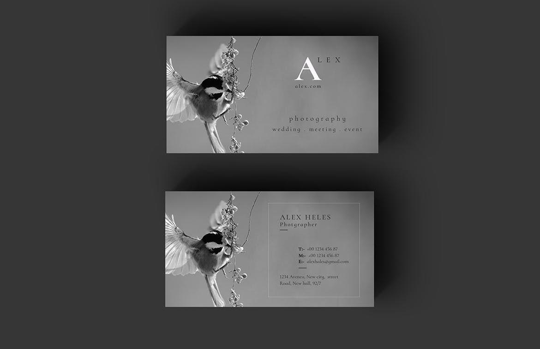Photographer business card template psd business card templates photographer business card template psd fbccfo Choice Image
