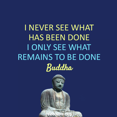 Buddha Quote About Just Do It Action Louder Than Words Action By