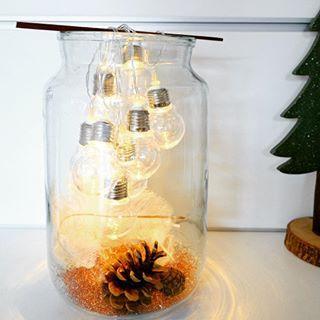 Weihnachtsdeko Venlo.Diese Idee Die Lichterkette So In Ein Glas Zu Hängen Hab Ich Im