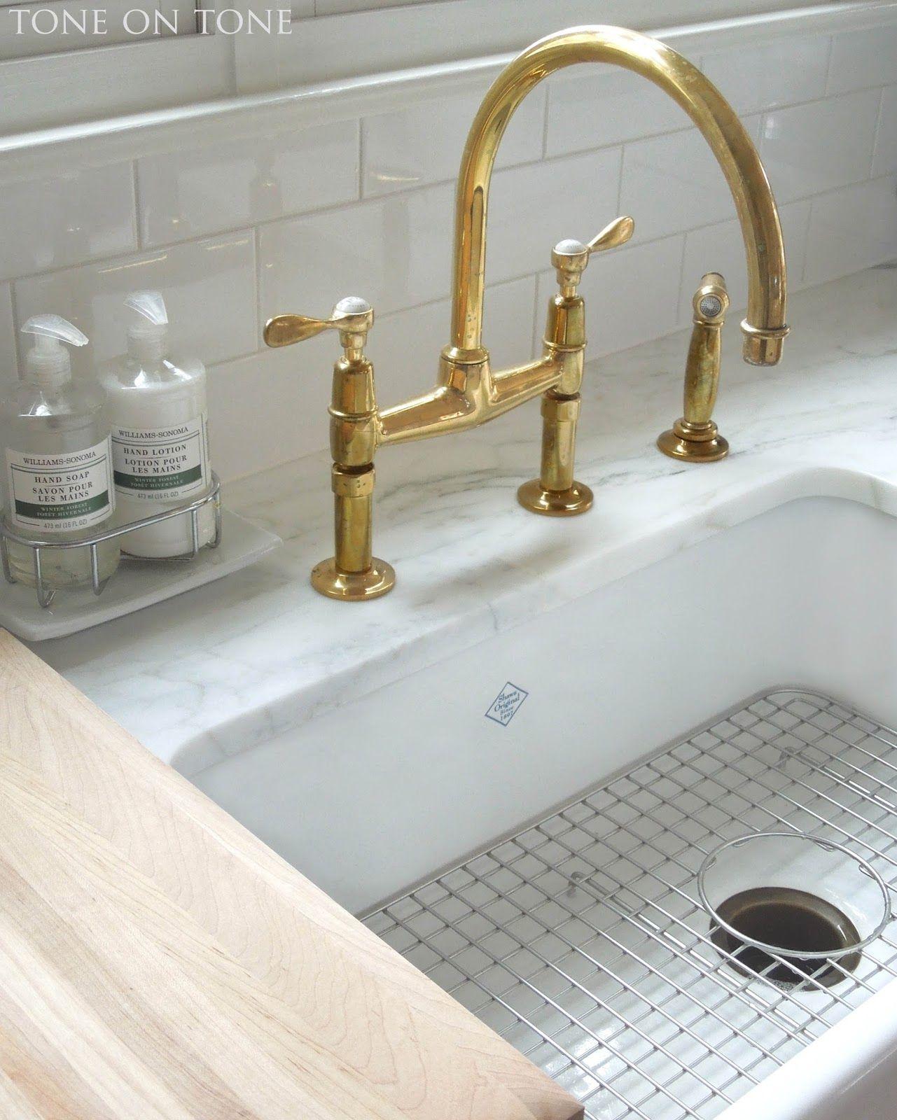 Unlacquered Brass Kitchen Faucet Extraordinary Wall Mount Faucet