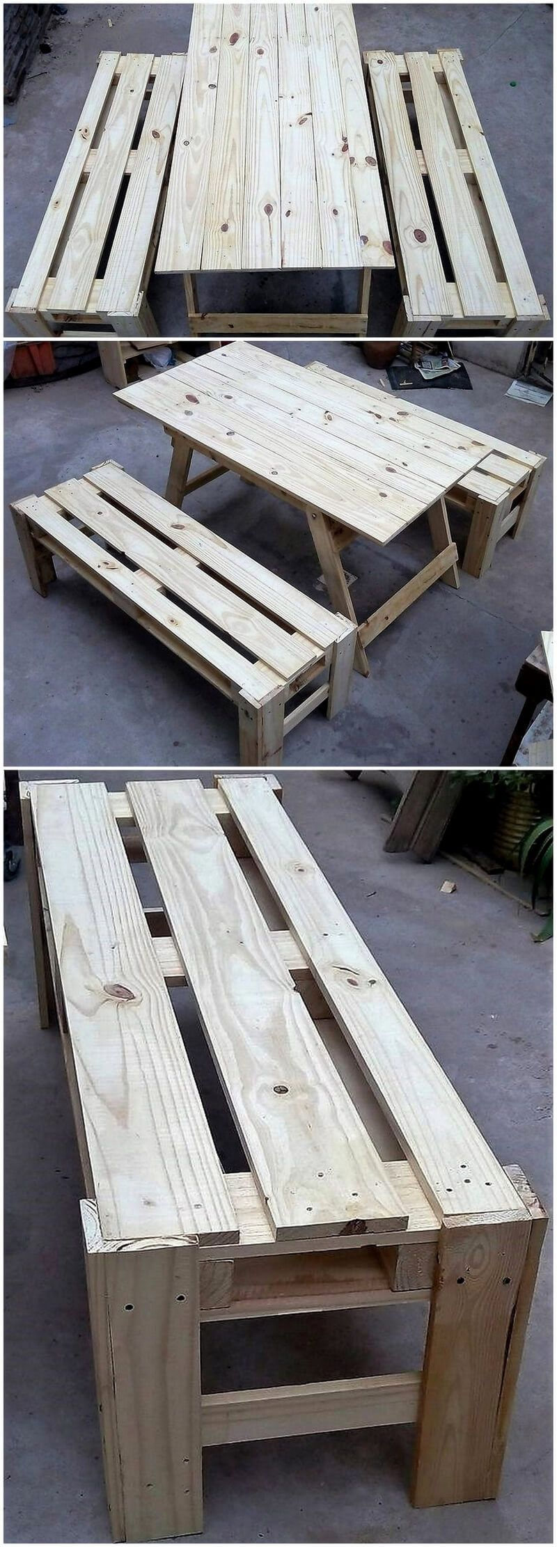 simple and creative ideas for wood pallet recycling pallet rh pinterest com