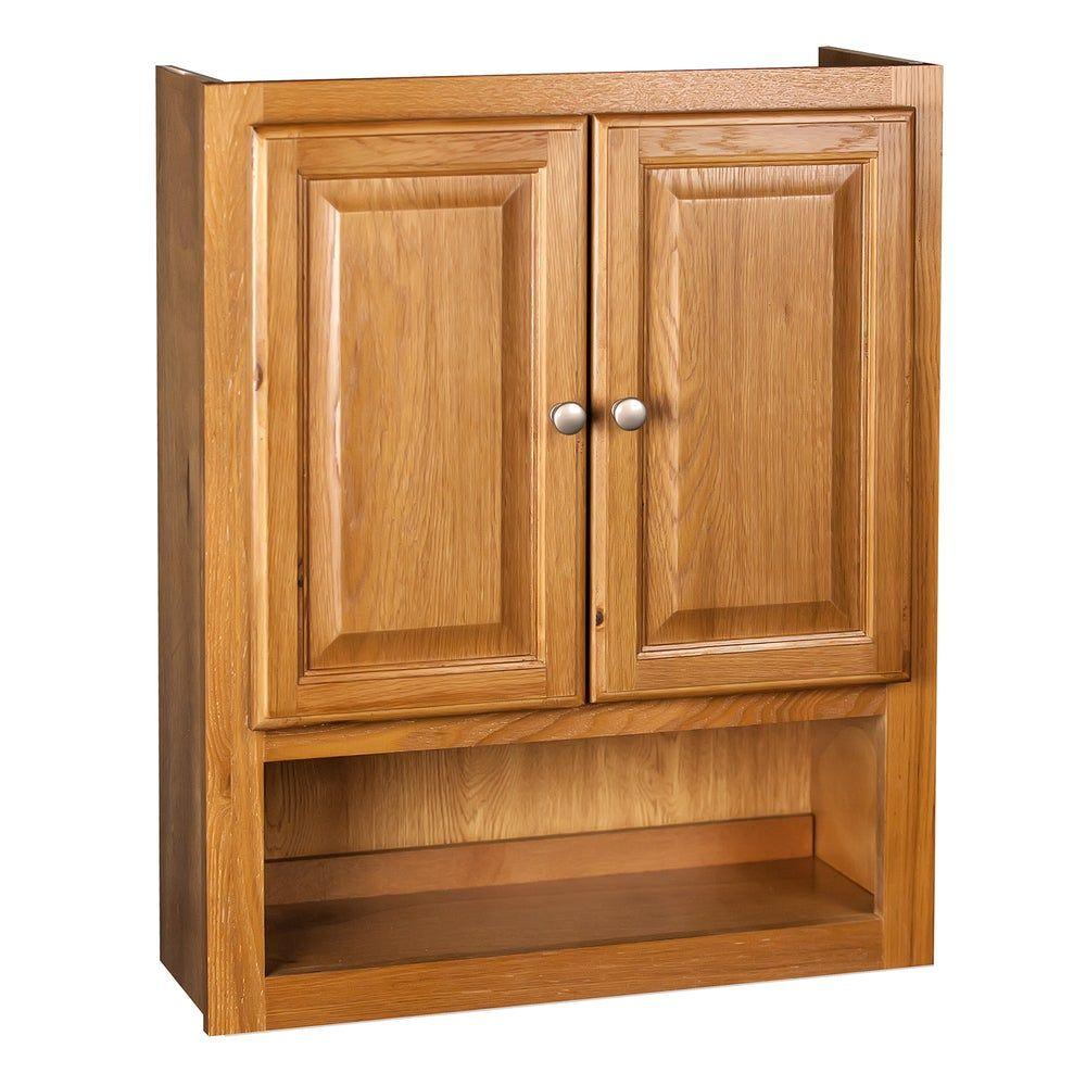 Raised Panel Oak Bathroom Cabinet (Raised Panel Oak Tank ...