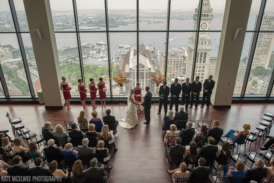 new england wedding venues on budget%0A beautiful wedding in the great room overlooking boston harbour at the state  room boston