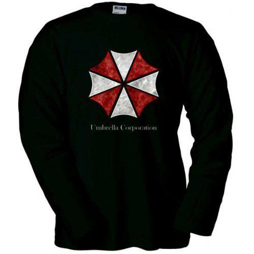 Camiseta manga larga Umbrella Corporation -Resident Evil- (Talla: TALLA-M) #regalo #arte #geek #camiseta