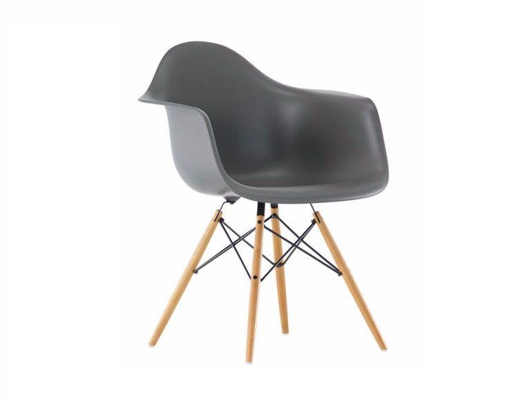 DAW Sedia in polipropilene Collezione Eames Plastic Armchair by ...