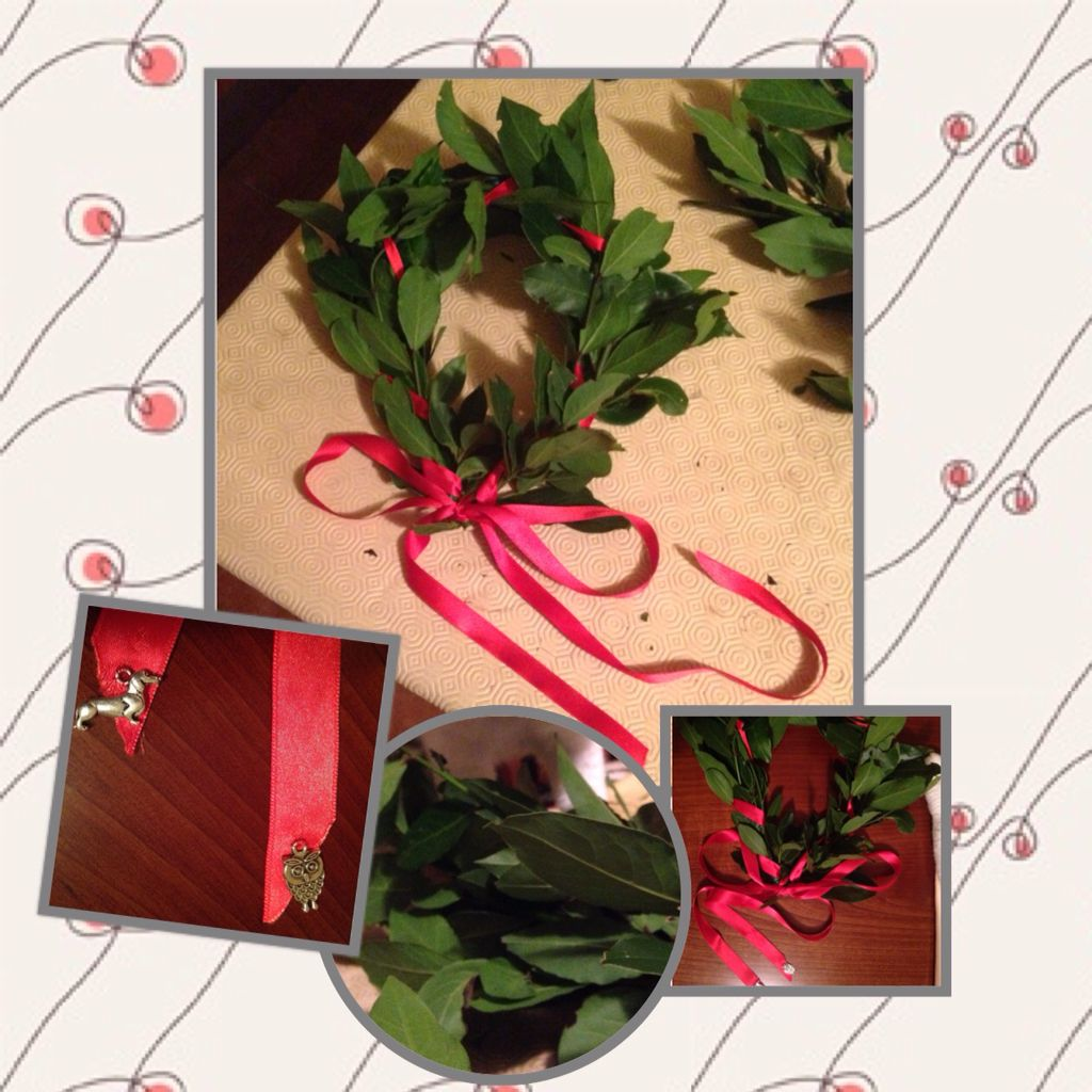 Degree laurel wreath - corona d'alloro per laurea di Valeria
