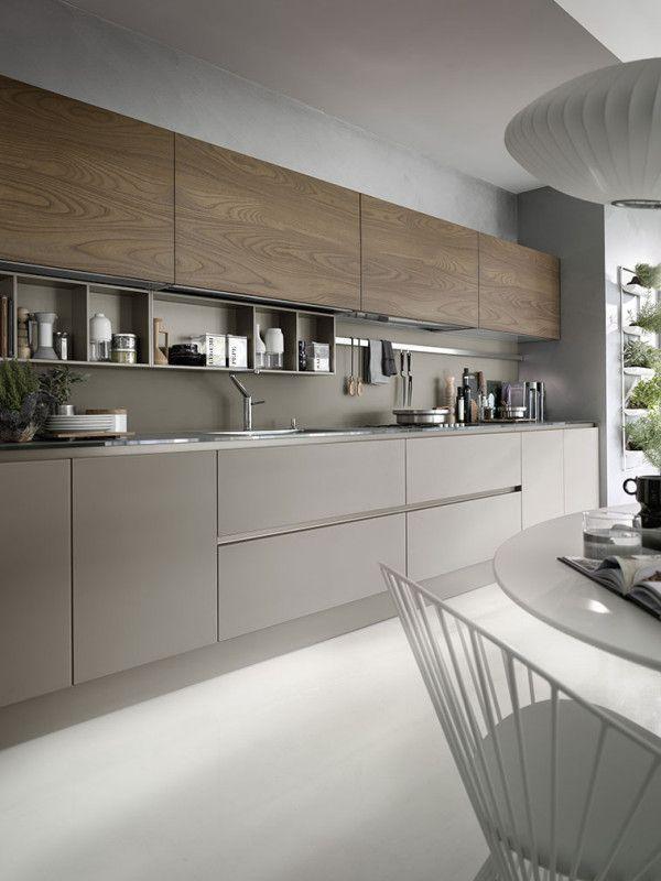 Photo of Cucina moderna color tortora perfetta per la tua casa in stile moderno #kitchen …