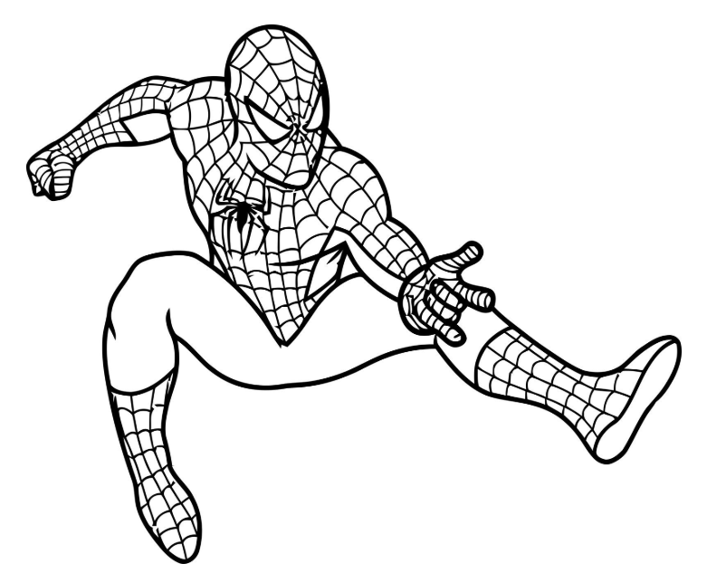 Colouring Pictures For Boys Spiderman Coloring Avengers Coloring Pages Coloring Pages For Boys