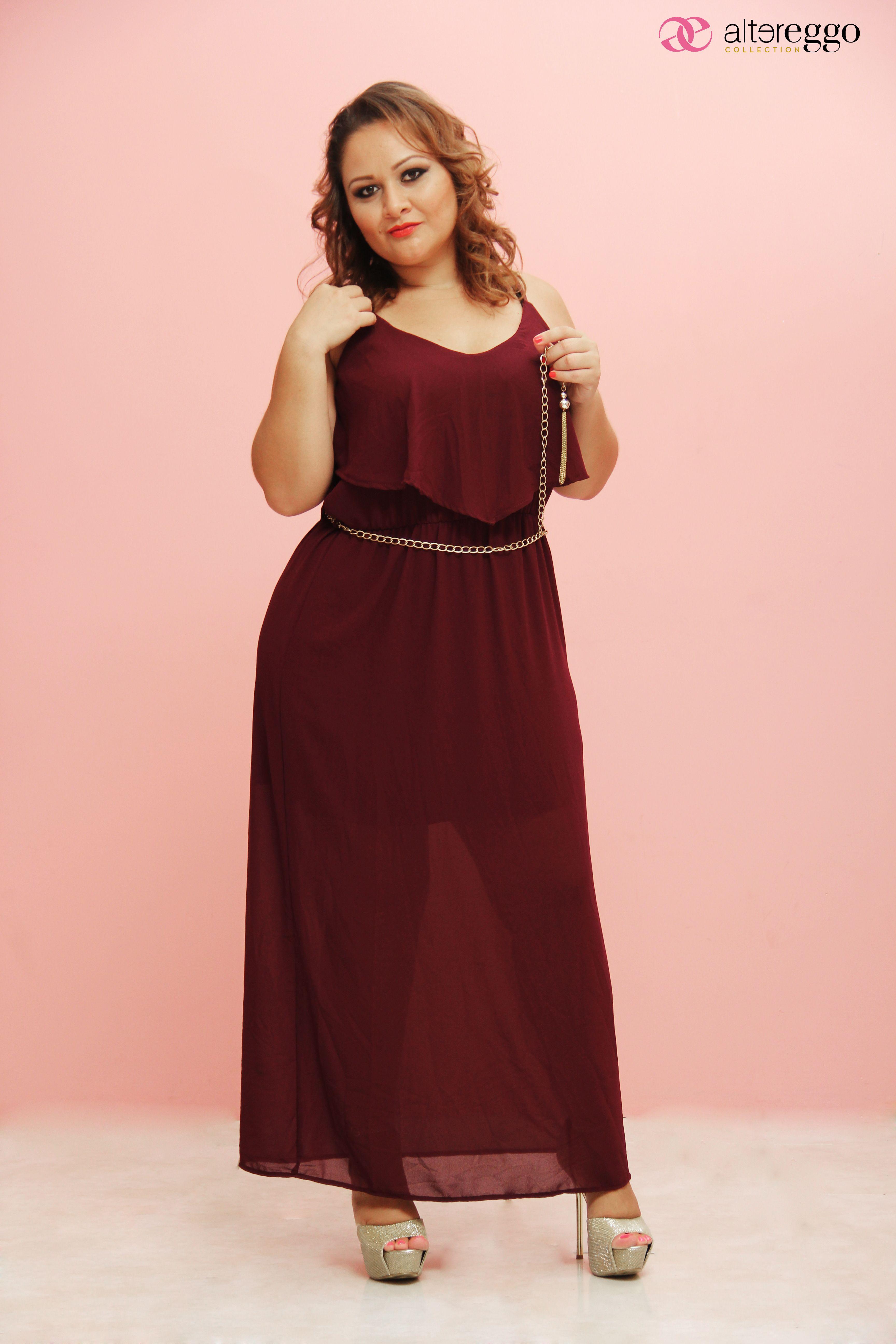 moda #tallas #extra #plus #vestido #gorditas #llenitas #curvy #girl ...