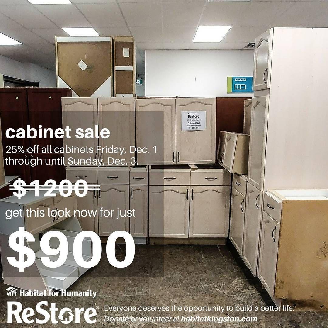 Habitat For Humanity Restore Kitchen Cabinets