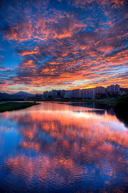 sunset-of-fire, Ulsan, South Korea
