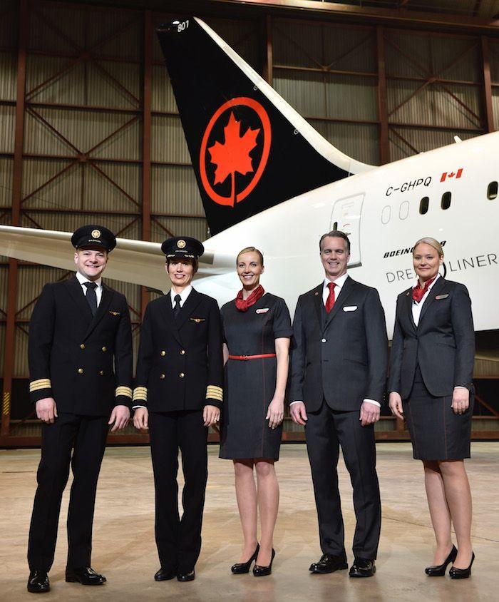 New-Air-Canada-Uniformsjpg (700×844) Mile High Pinterest