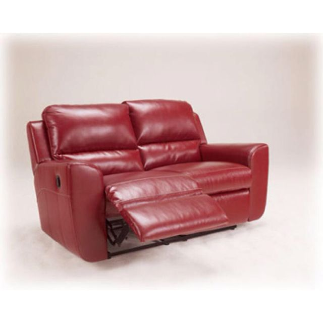 Ledger Durablend Reclining Love Seat By Ashley The Perfect