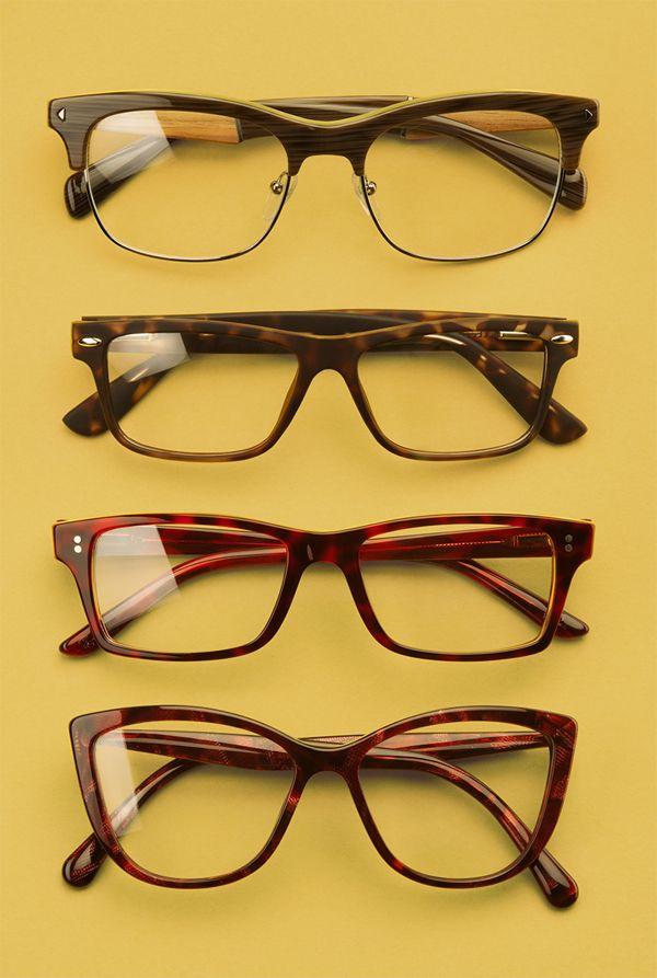 New Look F/W 2013-2014 Vintage Eyewear Lookbook by Marjorie Lapointe-Aubert, via Behance
