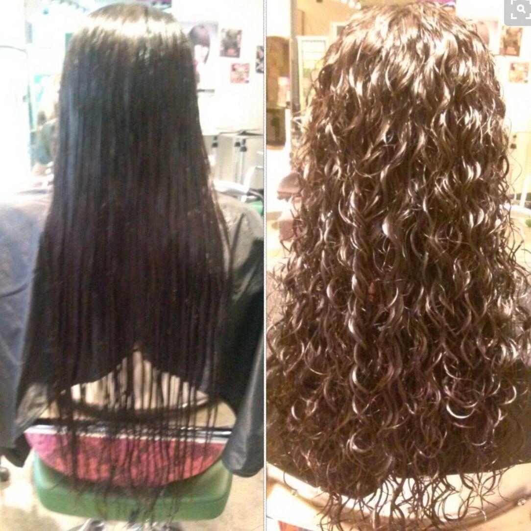 Pin By Katelyn Elliott On Perms Spiral Perm Long Hair Permed Hairstyles Long Hair Perm