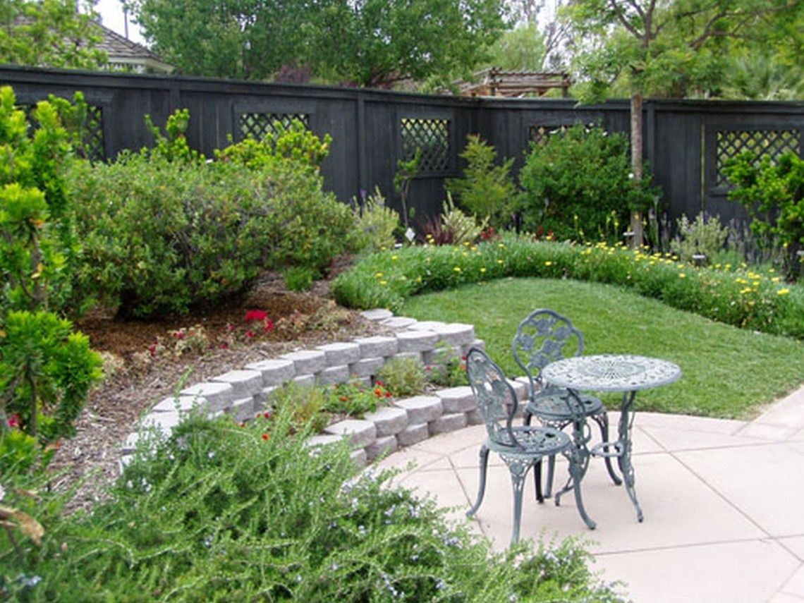 Bedrooms Design Ideas Small Sloping Backyard Ideas Budget Friendly For Backyard Landscapes On A Budge Sloped Backyard Sloped Garden Sloped Backyard Landscaping