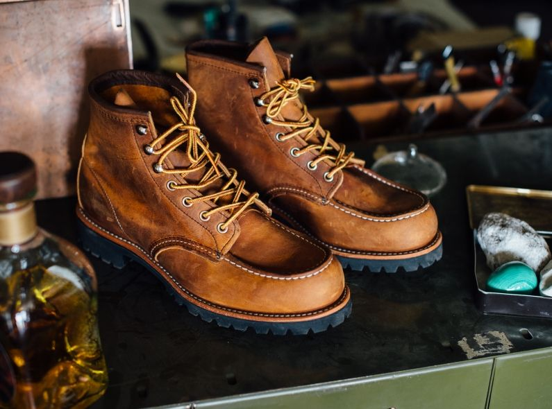 641b18015b5 Red+Wing+Shoe+Store+Exclusive+release:+the+2942+Roughneck+Moc+Toe+in ...