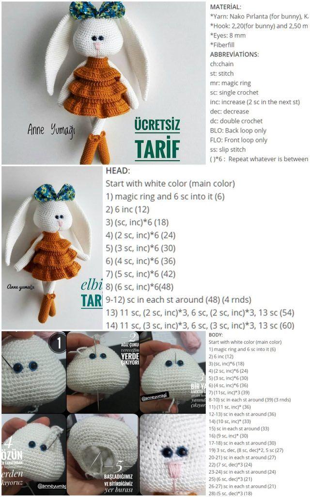 Darmowe wzory (ang) na szydełkowe prezenty na Dzień Dziecka - Wool ... | 1024x640