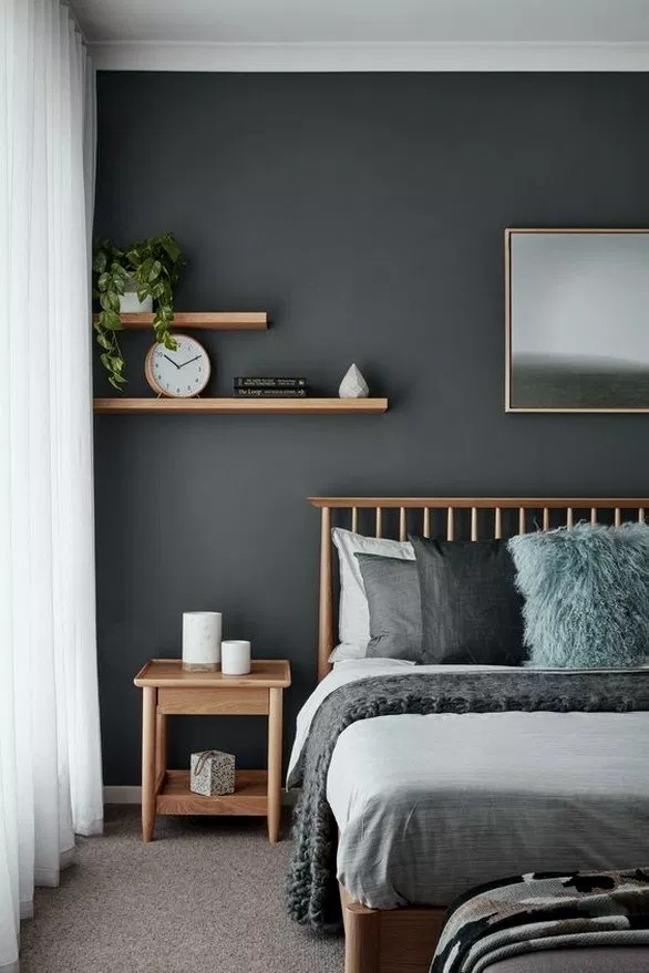 29 Best Modern Bedroom Wall Decor Ideas To Try Modernbedroom Bedroomdesign Bedroomideas Home Alone Small Bedroom Decor Bedroom Wall Colors Bedroom Decor