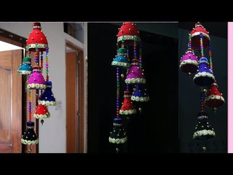Wind chime out of plastic bottle best out of waste creative use of waste plastic bottles how to recycle plastic bottles step by step tutorial for you