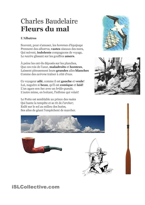 Lalbatros. Charles Baudelaire