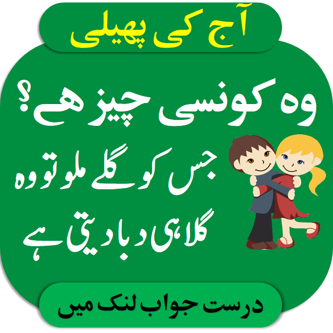 Pin on Riddles in Urdu