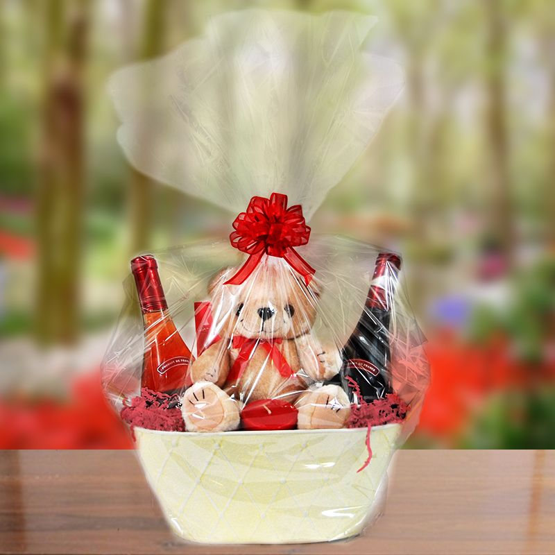 Cool ideas for what to add to a vday basket repin this