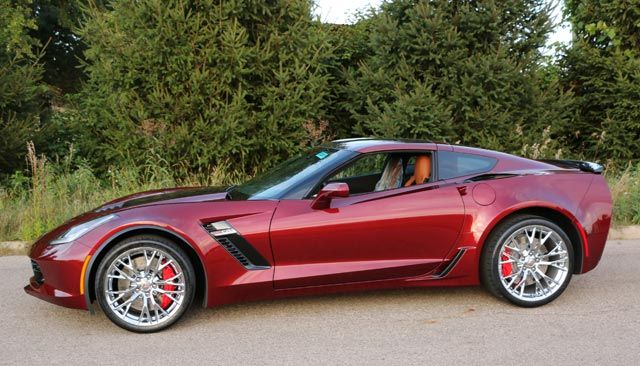 Pics 2016 Corvette Z06 In New Long Beach Red