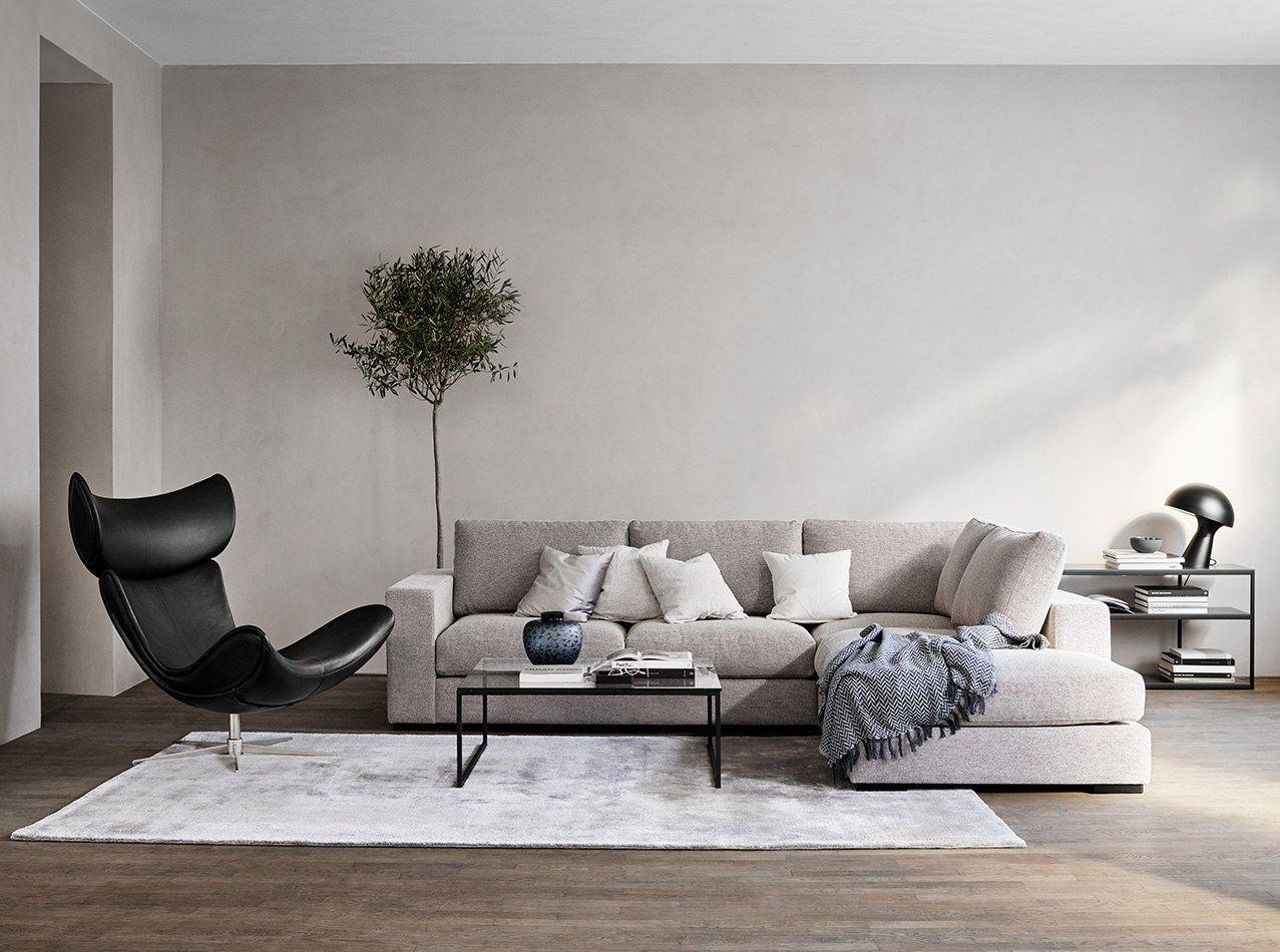 9 stylish scandinavian sofa ideas for your home / boconcept