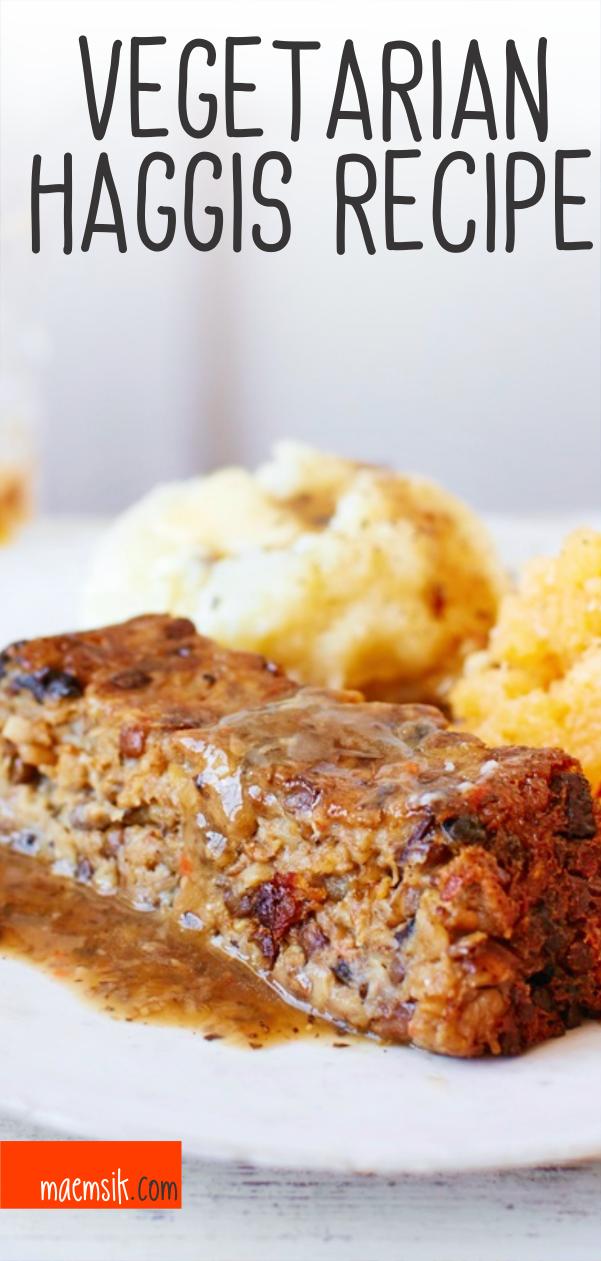 Photo of Vegetarian Haggis Recipe