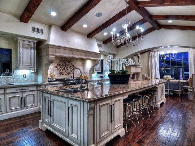 Dream Rustic Kitchens rustic gourmet kitchen - google search   dream house ideas