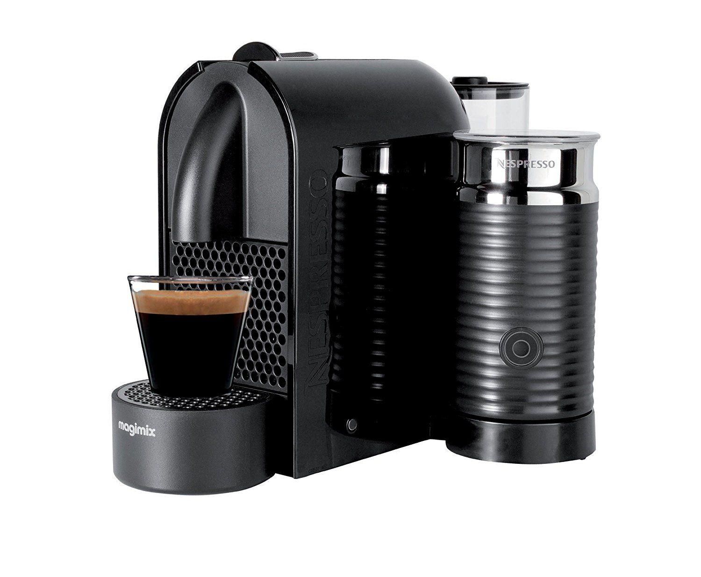 Magimix Nespresso 11344 Coffee Machine, 1260 Watt, Black