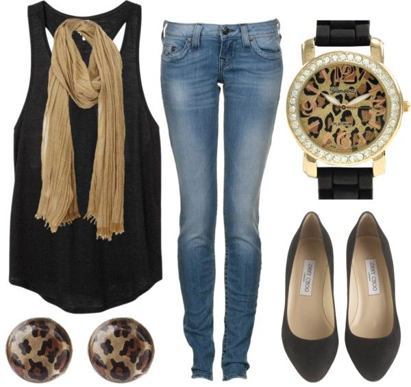 Small leopard accents