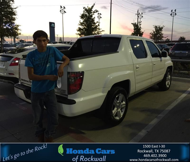 https://flic.kr/p/xtcHp4 | Congratulations Amelia on your #Honda #Ridgeline from Kiara Campos at Honda Cars of Rockwall! | deliverymaxx.com/DealerReviews.aspx?DealerCode=VSDF
