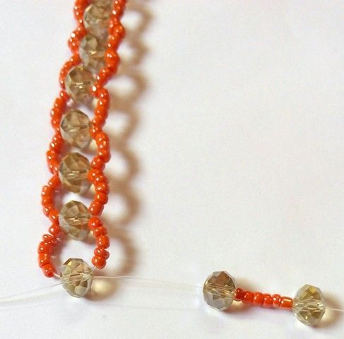 Beadination The new Abuja connection beaded necklace technique