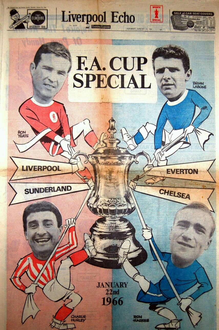 FA Cup Special from the Liverpool Echo in January 1966.