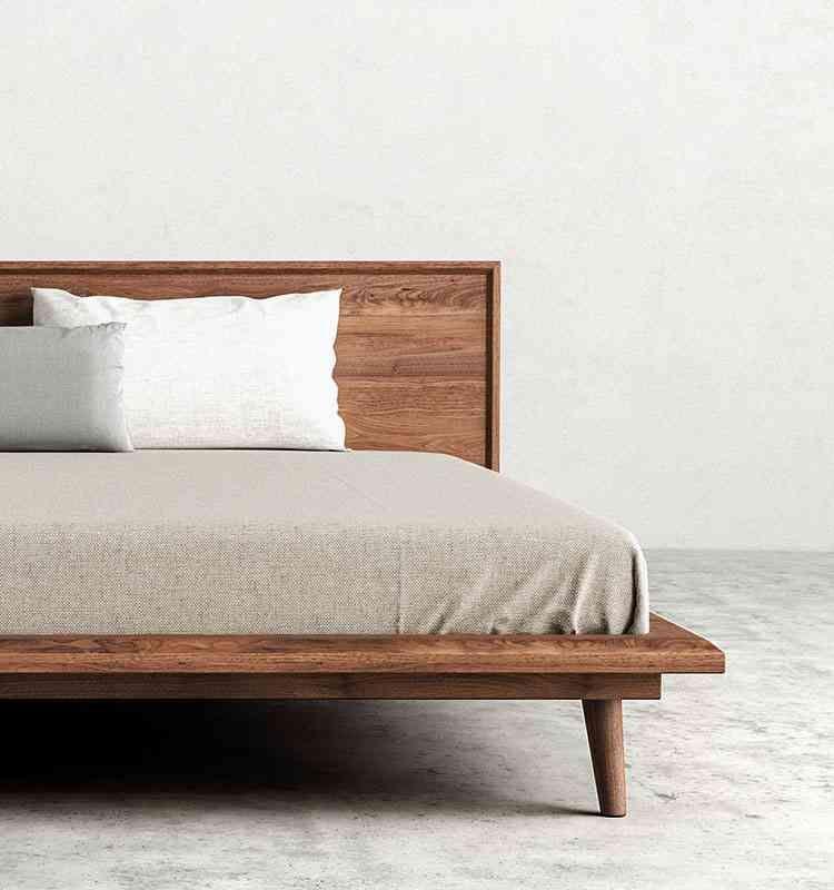Beds Modern Bed Danish Bed Frame Mid Century Modern Bed