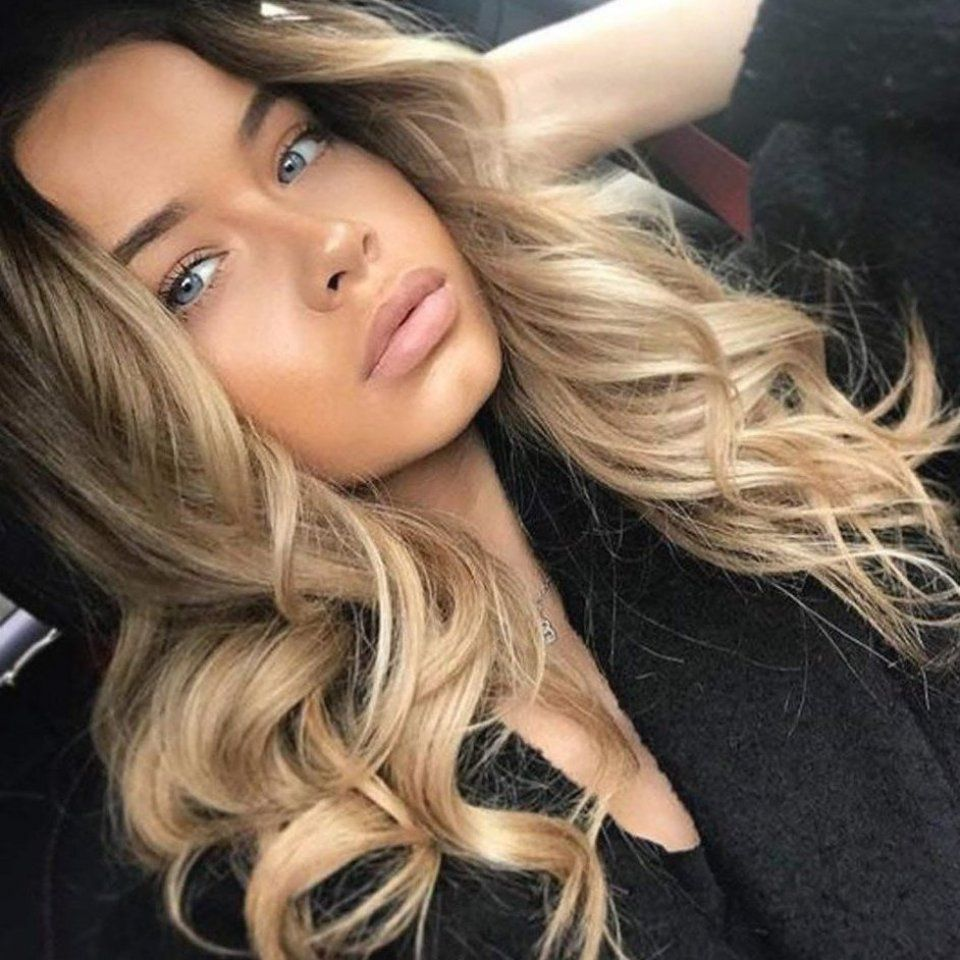 100 High Quality Human Hair Blend Human Hair Heat Resistant Synthetic Hair Which Looks Like Real Human Hair 1 Piece In 2020 Olive Hair Hair Styles Frontal Hairstyles