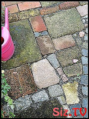 Photo of Paving with bits and pieces and samples and discards  Paving with bits and piece…