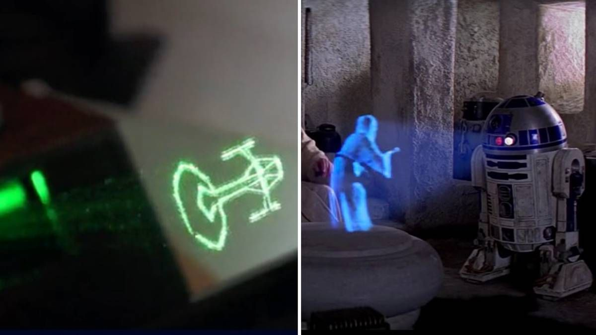 """Jetzt lesen: Lasertechnik: Warum Hologramme wie aus """"Star Wars"""" schon bald Realität sind - http://ift.tt/2dVrCRI"""
