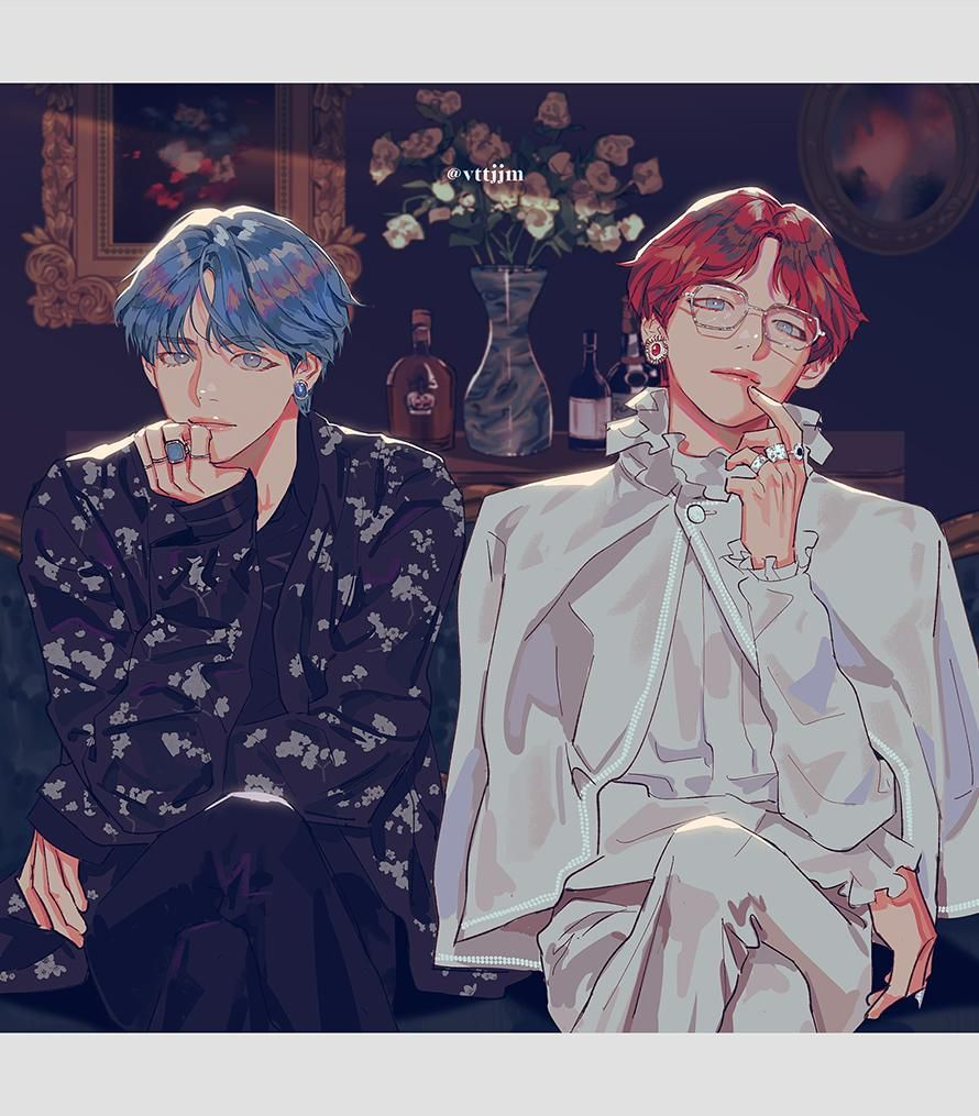 """Photo of ALL BTS """"S FANARTS _ THE MOST BEAUTIFUL FANARTS IN PINTEREST AND TWITTER"""