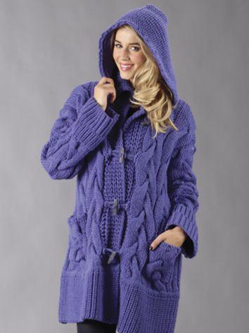Pure Wool Entwine Cable Jacket | JENNIFER NICHOLE AND LISETH ...