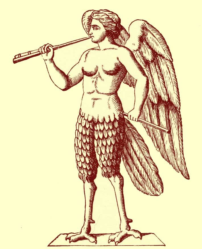 Сирены картинки древнегреческая мифология